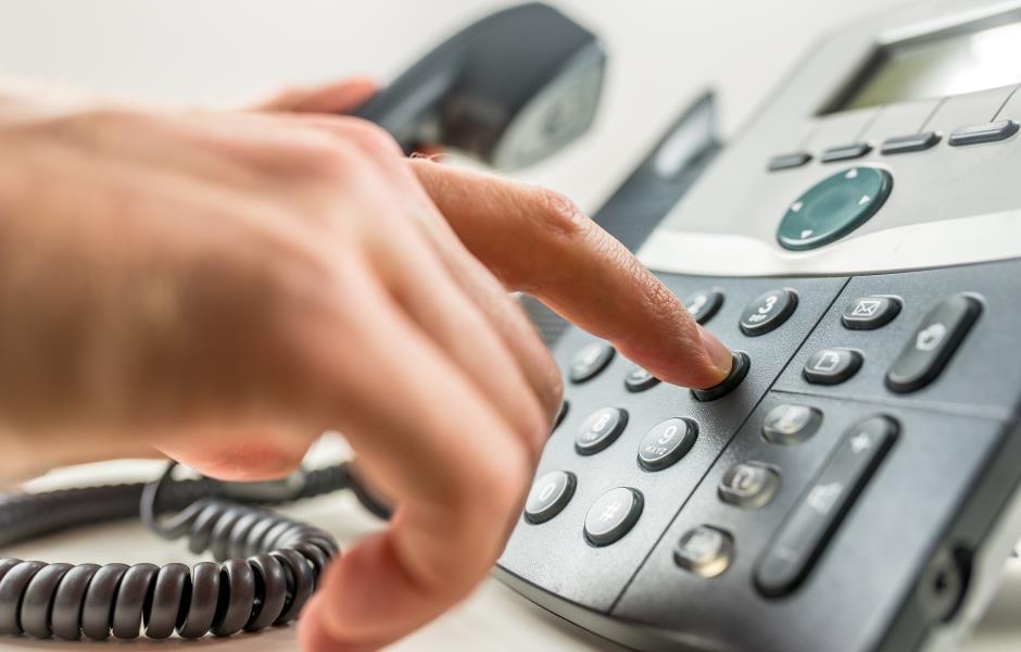 Telekommunikation Anruf