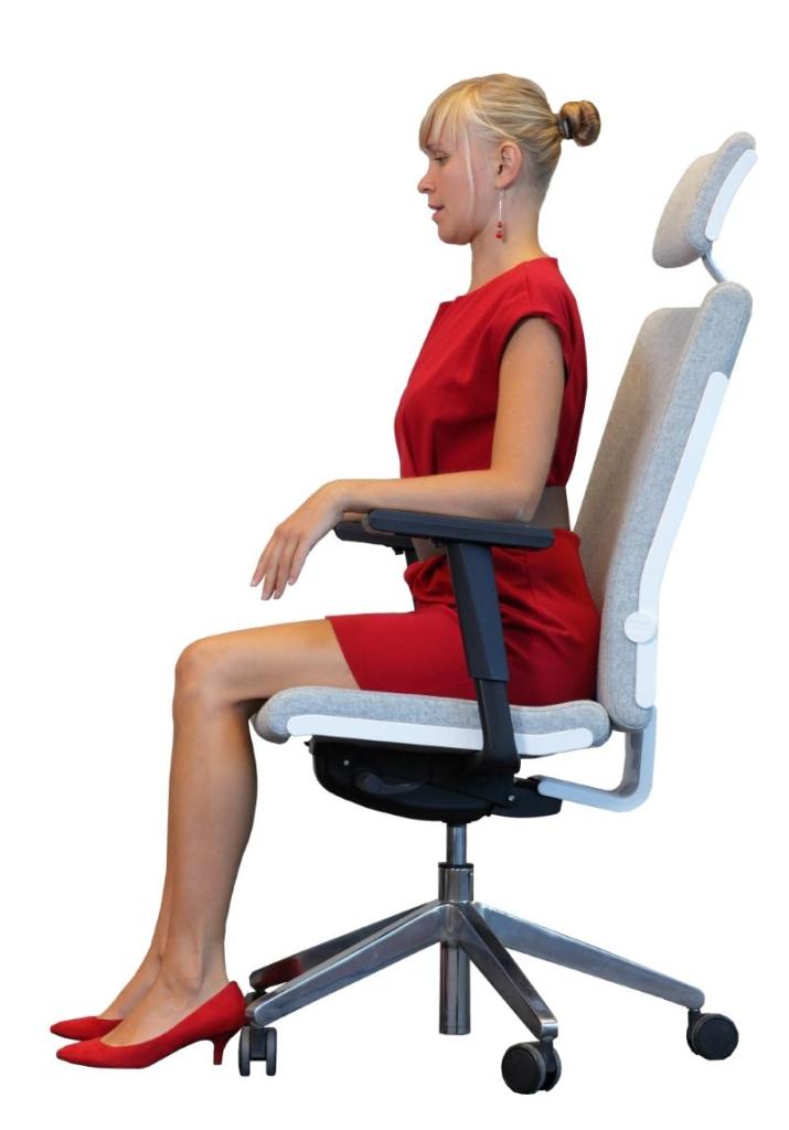 Büro Sitzposition